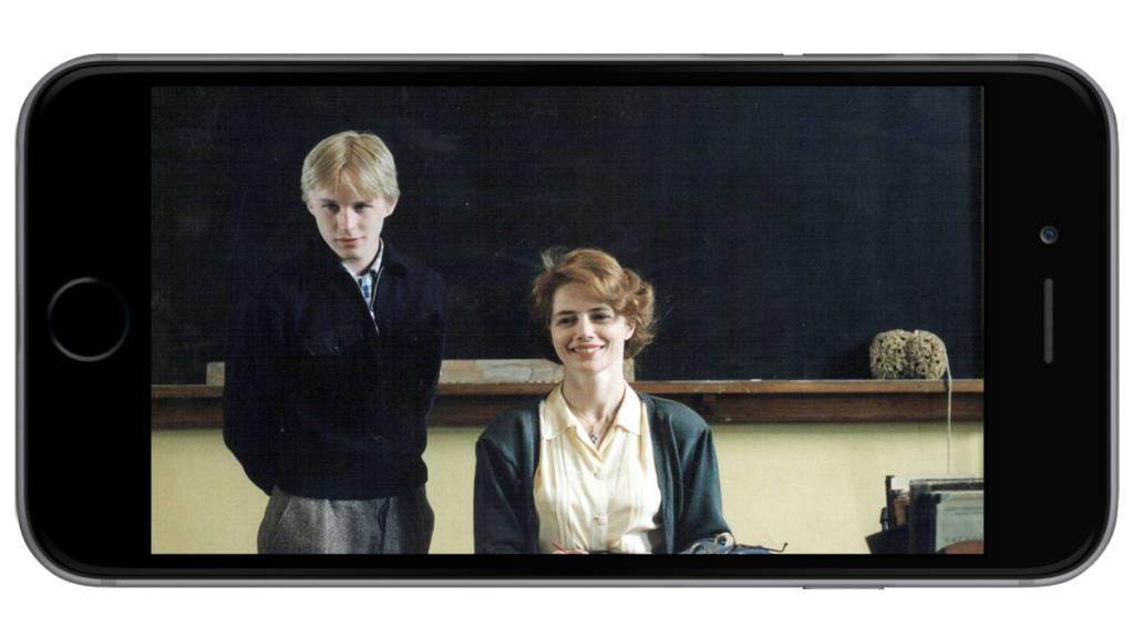 об отношениях между учительницей и ее учеником