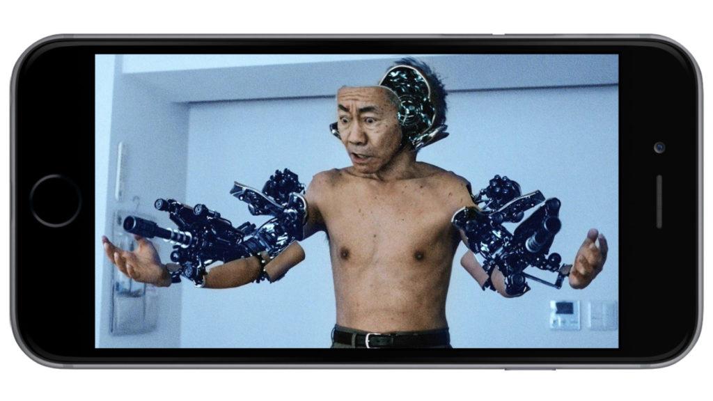 дед превратился в настоящего робота фильм
