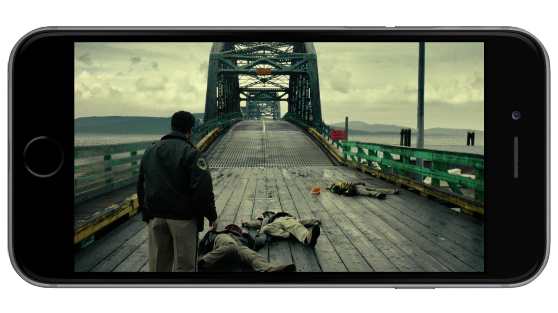 Моста на самом деле там нет